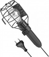 Lampa de lucru portabila cu grilaj