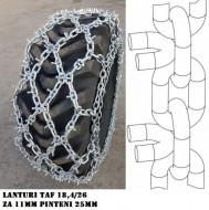 LANTURI ANTIDERAPANTE 11mm TAF 18,4 / 26