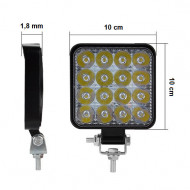 Pachet 20 Proiectoare LED-STROBO patrate 48W