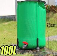 Rezervor pentru apa de ploaie, pliabil, 100 L