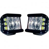 Set 2 proiectoare LED dreptunghiulare 2x45W