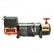Troliu electric DRAGON WINCH 12V 13000 lbs/ 5897 kg, cablu sintetic