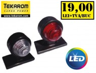 Lampa gabarit LED - brat scurt