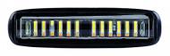 Proiector LED 24W 30° 12-24V lumina alba + portocalie si functie stroboscopica
