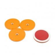 Set 4 catadioptri rotunzi portocalii adezivi