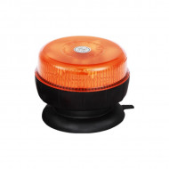 Girofar auto 12V/24V orange cu 8 LED-uri de 5W