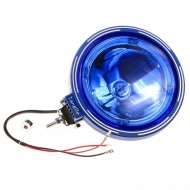 Proiector LED RING sticla albastra 24V