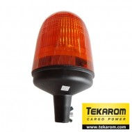 Girofar LED cu efect de rotatie sau stroboscopic (necesita suport tubular)