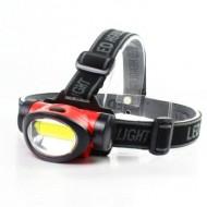 Lanterna cap LED Cob 3 functii Hi/Low/Flash