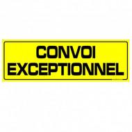 "Placuta ,,CONVOI EXCEPTIONNEL"" 1200X400mm"