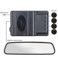 Senzori parcare PNI Escort P03 B cu afisaj in oglinda