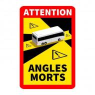 "Autocolant AUTOBUZ ""Angles morts"""