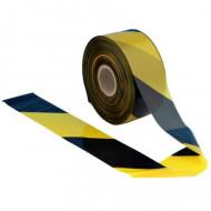Banda semnalizare santier galben - negru