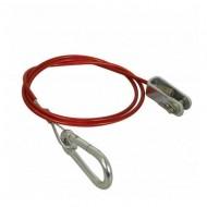 Cablu siguranta remorca 100 cm