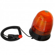 Girofar auto 12V/24V orange cu 16 LED-uri de 3W