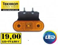 Lampa marcaj lateral cu suport