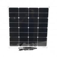 Panou solar flexibil 50W portabil cu conector tip MC4 565x535x2.8mm