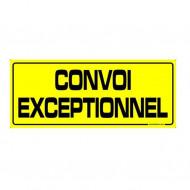 "Placuta ,,CONVOI EXCEPTIONNEL"" 730X300mm"