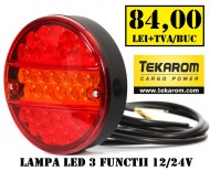 LAMPA LED CAMION 3 FUNCTII (SLIM)