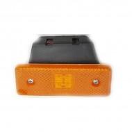 Lampa marcaj lateral cu suport 24V galben