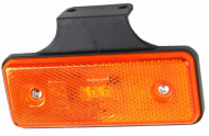 Lampa pozitie dreptunghiulara portocalie