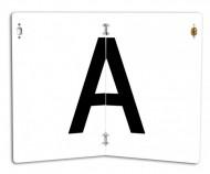 "Pachet 10 placute litera ,, A "" - PLIABILE"