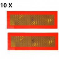 Pachet 10 seturi placute reflectorizante remorca