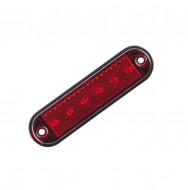 Lampa marcaj lateral rosie 6 LED-URI