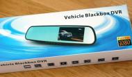 Oglinda retrovizoare cu camera video fata si marsarier, full HD