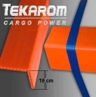 Coltare PET C4 - portocaliu - lungime 1,2 metri