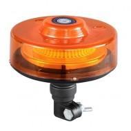 Girofar auto cu efect de rotatie 12V/24V orange cu 40 LED-uri si suport tubular