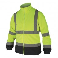 Jacheta fleece reflectorizanta L