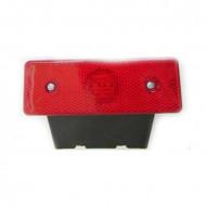 Lampa marcaj lateral cu suport 24V rosu