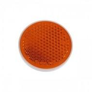 Catadioptru reflectorizant rotund portocaliu