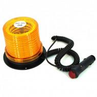 Girofar 12/24V - 30 led SMD cu magnet