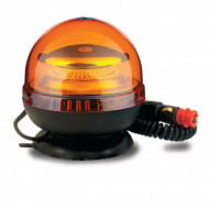 Girofar auto cu efect stroboscopic 12V / 24V orange cu leduri SMD