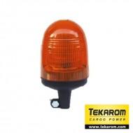 Girofar LED cu efect de rotatie sau stroboscopic si suport tubular