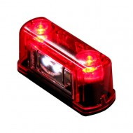 Lampa LED pentru placuta de inmatriculare 12V