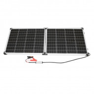 Panou solar tip valiza 120W cu regulator de tensiune 12/24V 20Ah, 2 USB-uri