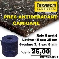 Pres antiderapant - rola 5 metri - latime 15 cm - grosime 8 mm