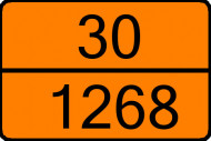 Tabla marcaj ADR Petrol
