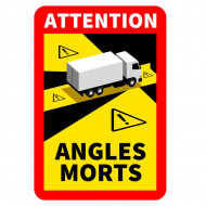 "Autocolant Reflectorizant ""Angles morts"""