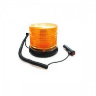 Girofar stroboscopic si rotatie 12V / 24V orange LED