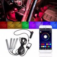Kit interior LED SMD RGB BLUETOOTH
