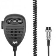 Microfon cu 6 pini cu parte metalica pentru statii radio PNI Escort