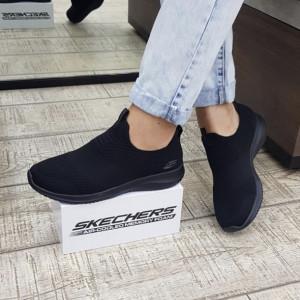 Pantofi dama Skechers 12837 BBK