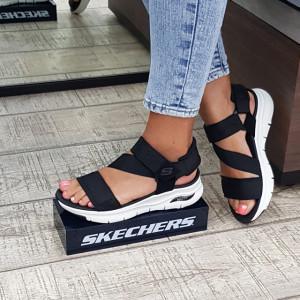 Sandale dama Skechers 119237 BLK
