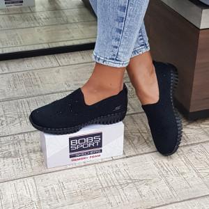 Pantofi dama Skechers 124053 BBK