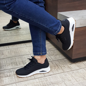 Pantofi dama 73690 BLK