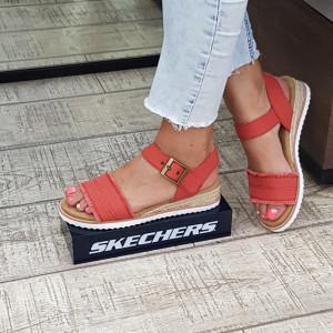 Sandale dama Skechers 113541 BRCK